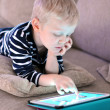 Child with tablet — Stock Photo #32705811