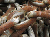 Rusty chain — Stock Photo