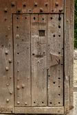 Old mediaval door — Stock Photo