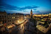 Krakow Market Square, Poland — Stock Photo