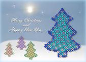 с новым годом и рождеством — Стоковое фото