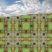 Pattern decoration — Stock Photo