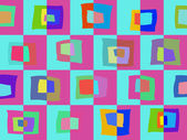 Colored abstract pattern of elements background — Stok fotoğraf
