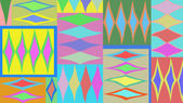 Colored abstract pattern — Stockfoto
