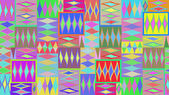 Colored abstract pattern — Stock fotografie
