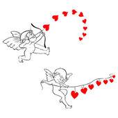 Sladký amor — Stock vektor