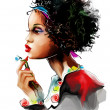 African woman — Stock Photo