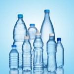 Set of water bottles — Stock Photo #32383859