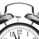 Close up alarm clock — Stock Photo