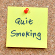 Quit smoking — Foto Stock #32388949