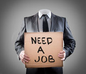 Need a job — Stockfoto