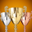 Trophies — Stock Photo