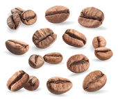 Collections of coffee beans — Stock Photo