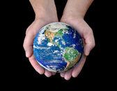 Rädda världen — Stockfoto