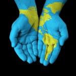 mapa pintado a mano — Foto de Stock   #39510547