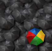 Guarda-chuvas — Fotografia Stock