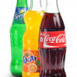 Coca-Cola, Fanta and Sprite — Stock Photo #47007723
