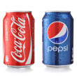 Постер, плакат: Coca Cola and Pepsi