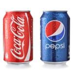 Coca-Cola and Pepsi — Stock Photo #47166077