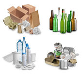 Trash for recycling — Stock Photo