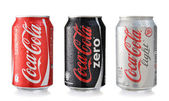 Coca-Cola cans — Stock Photo