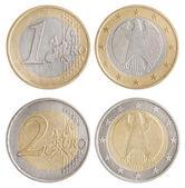 Coins of Euro — Stok fotoğraf