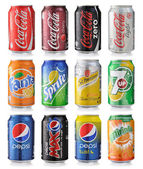 Soda drinks — Stock Photo