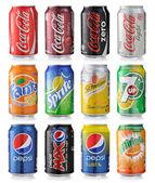Soda drycker — Stockfoto
