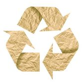 Recicl o símbolo — Foto Stock