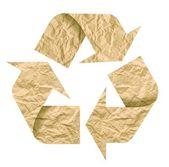 Recycle символ — Стоковое фото