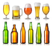 Collection of different beer — Stockfoto