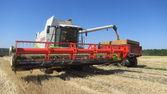 Combinar as colheitas — Foto Stock