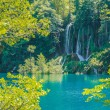 Waterfall in plitvice — Stock Photo