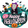 Halloween background — Stock Vector #31929899