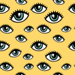 Vetorial Stock : Eye pattern