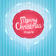 Stock Vector: Merry Christmas card background