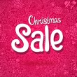 Christmas Sale doodle poster — Stock Vector #33891477