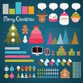 Christmas infographics — Stock Vector