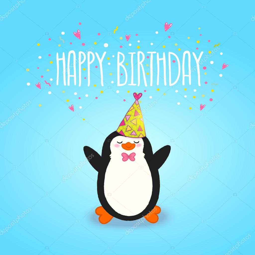 Happy Birthday Penguin Tumblr