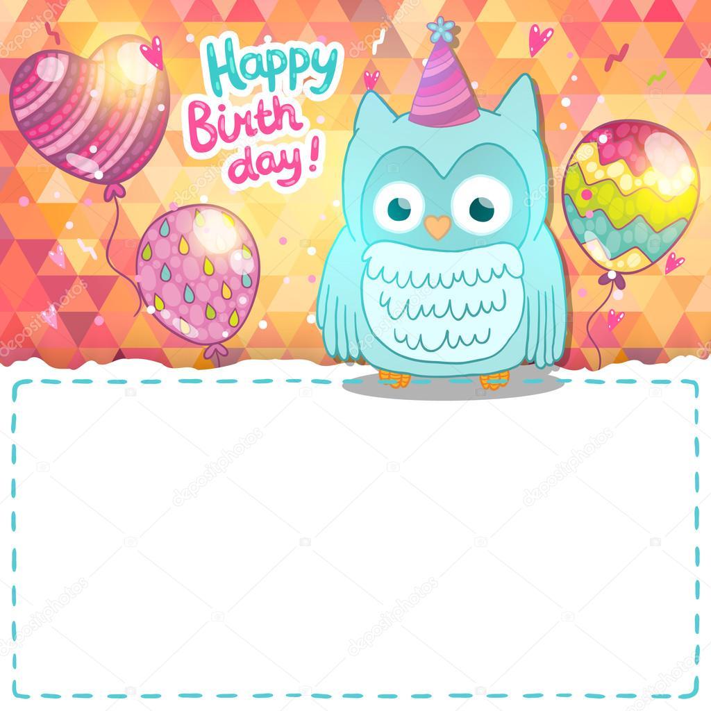 Поздравления совы с днем рождения текст 49