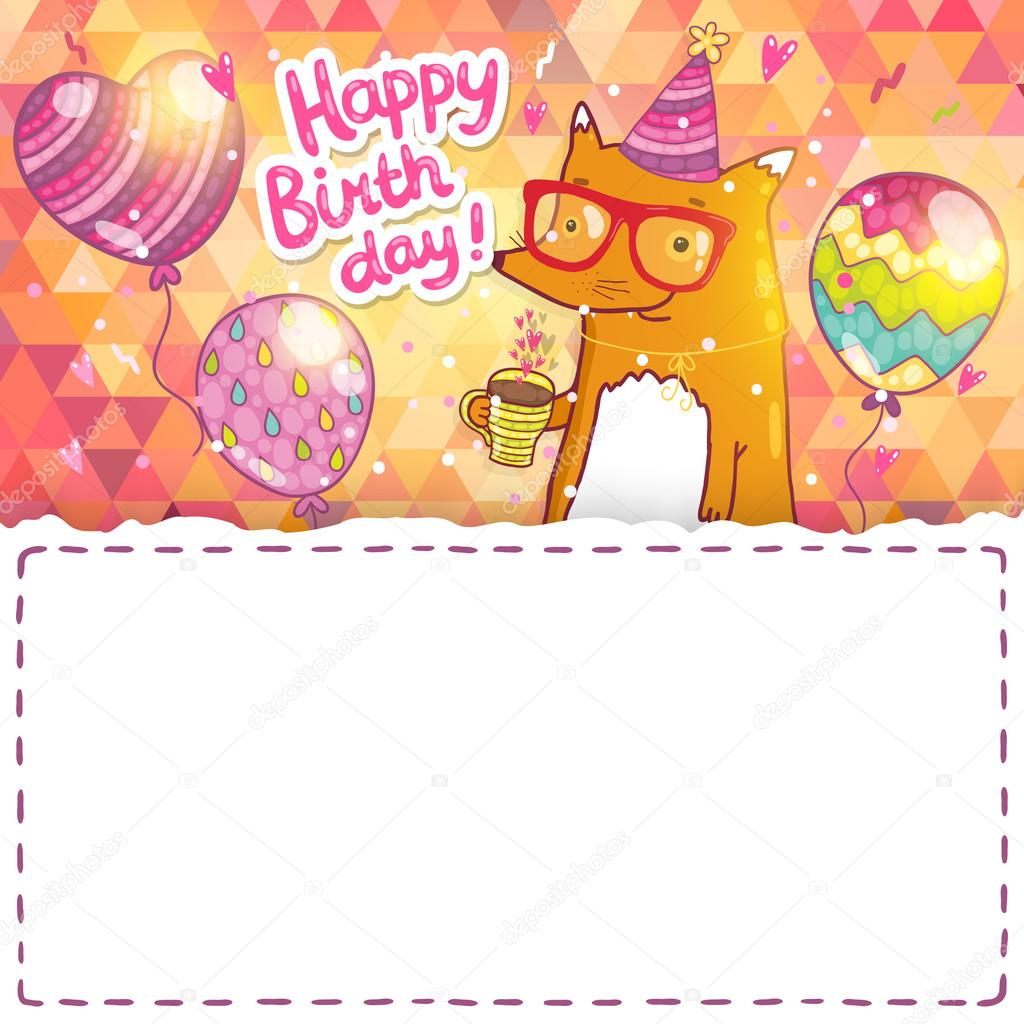 Happy Birthday Word Template invoice template receipt template – Template Happy Birthday Card