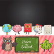 Back to school background — Stock Vector #50066079