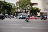 Bangkok in motion — Stock Photo