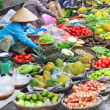 Traditional asian market — Stock Photo
