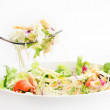 Salad with fresh vegetables — Stock Photo