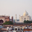 Stock Photo: Taj Mahal, Agra, India