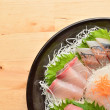 Sushi - Japanese food — Stock Photo
