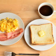 English breakfast morning — Stock Photo