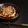 Okonomiyaki japanese food — Stock fotografie