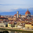 Renaissance cathedral Santa Maria del Fiore in Florence, Italy — Stock Photo #32429769
